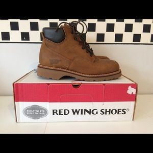 2156 NIB Red Wing Shoes 7 D Hiking Boots 7D wide